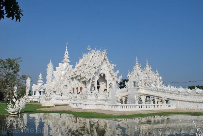 Wat Rong Khun à Chiang Rai