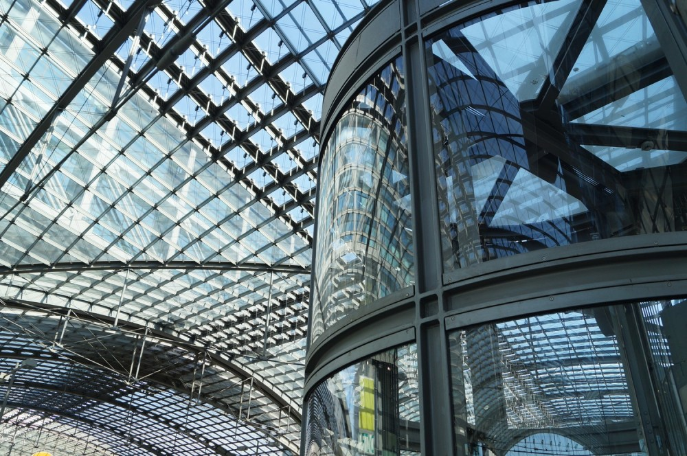 Reflet de la Hauptbahnhof !