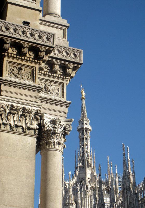 Galleria Vittorio Emanuele with Duomo di Milano