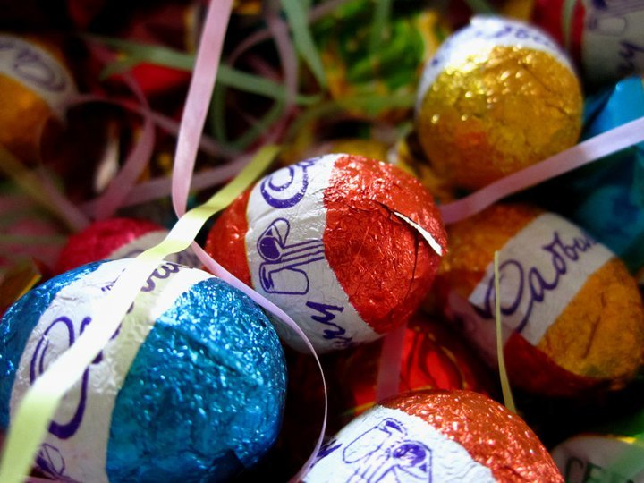 Easter with Cadbury Chocolate