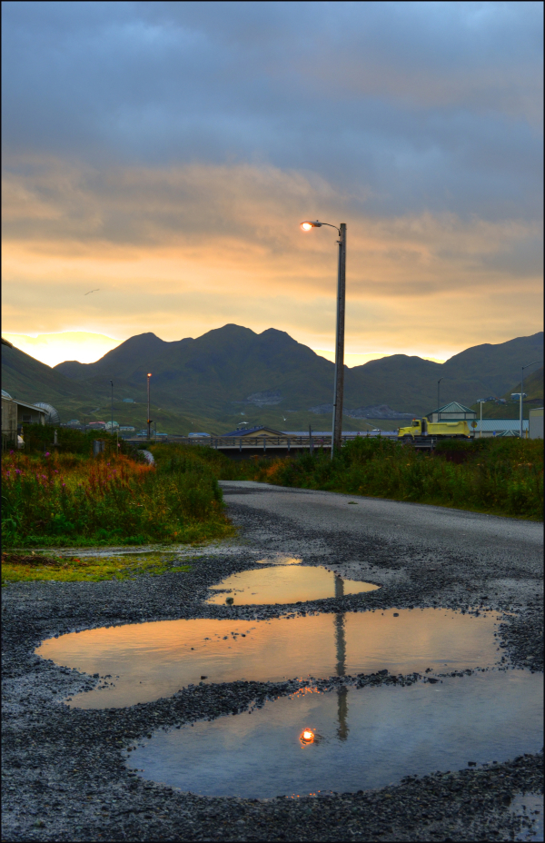 The Sunrise over Unalaska
