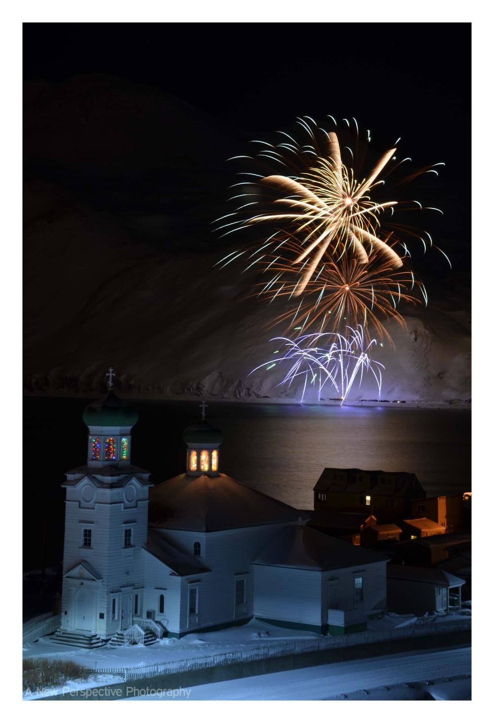 Fireworks in Unalaska