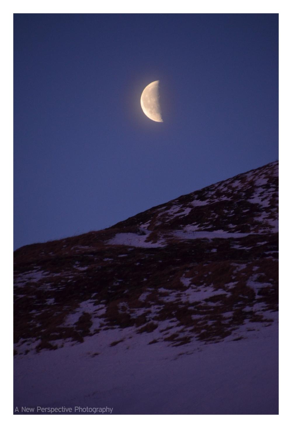 moon sunrise unalaska