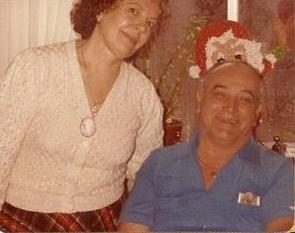 Grandma and Grandpa  1984