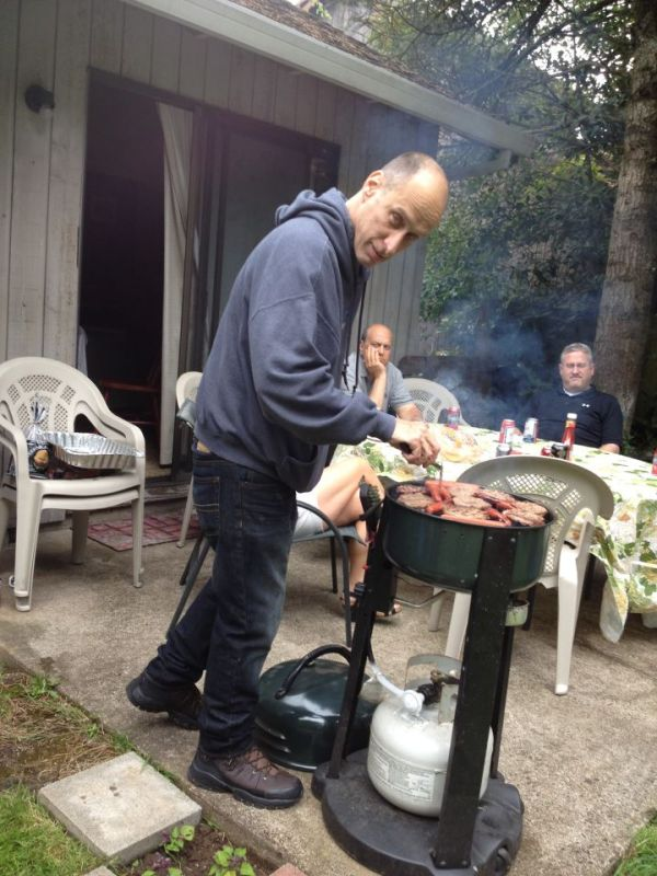 BBQ for DAD 65