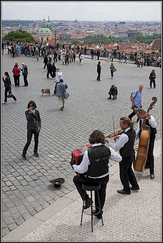 musicians playing
