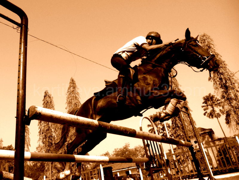 Steeplechase training, Pune