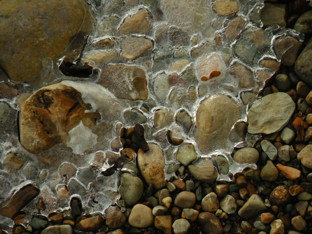 Iced Pebbles