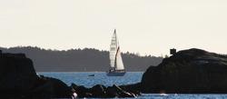 Autumnal sailing