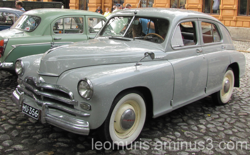 Venäläinen auto, Russian car