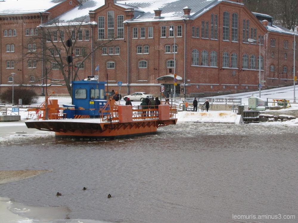 Jokilautta, River Ferry