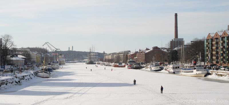 Talvinen maisema-wintery lanscape