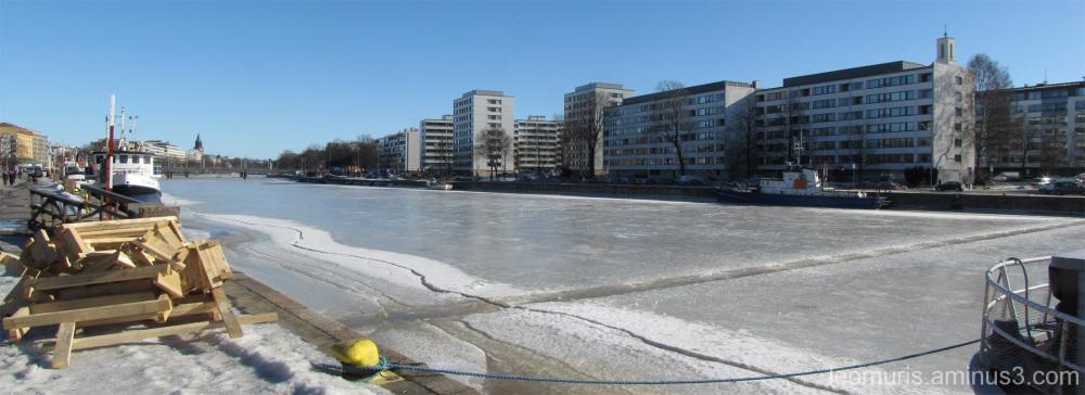 Purettu silta - Demolished bridge