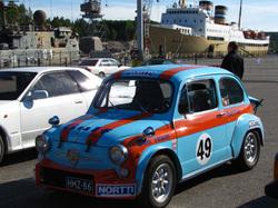 Vanha auto - old car