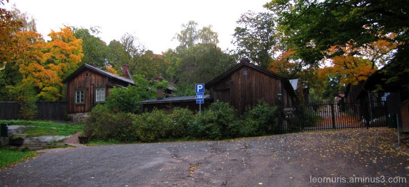 Vanhoja taloja - old houses