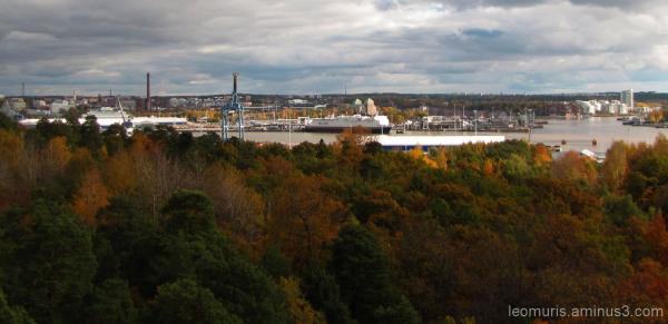 Kaupunki syksyllä - The town in the autumn