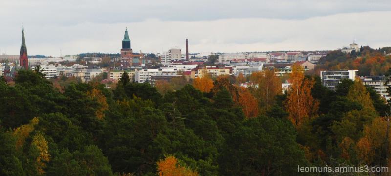 Kaupunki syksyllä II - The town in the autumn II