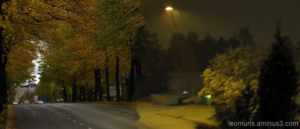 Muuttuva sää - The changing weather