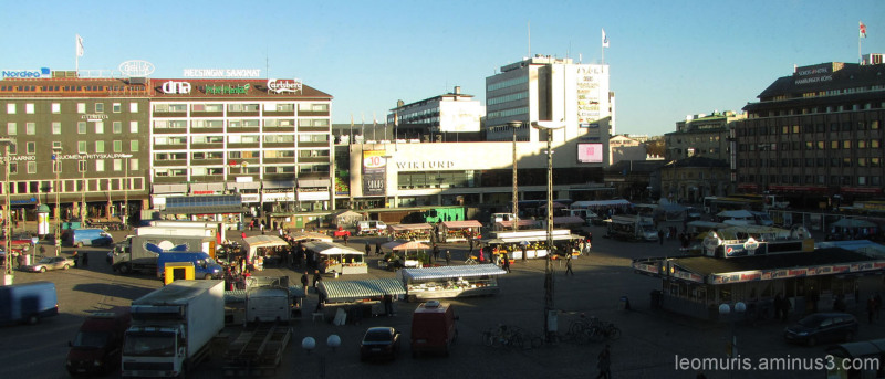 Torinäkymä - market view