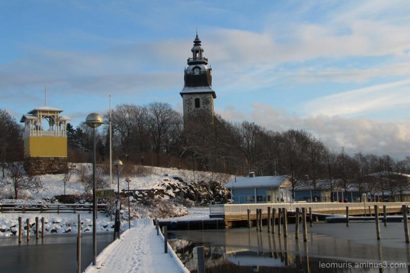 Talvinen näkymä - wintery view