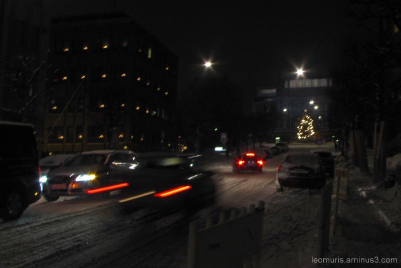 Ilta kaupungissa - Evening in the town