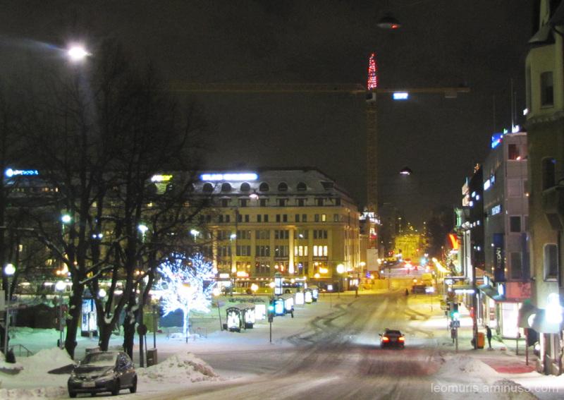 Kaupunkinäkymä - Cirty view