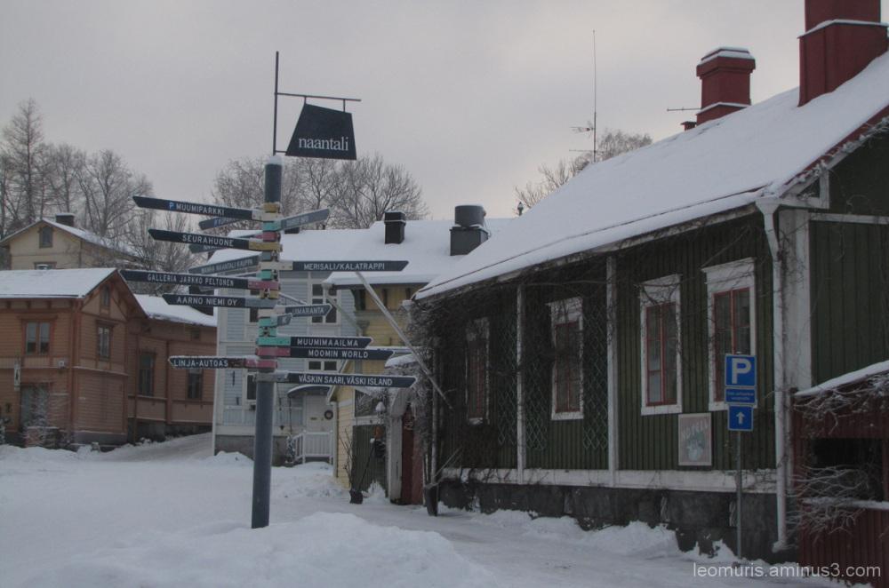 Talvinen kesäkaupunki - Wintry summer city