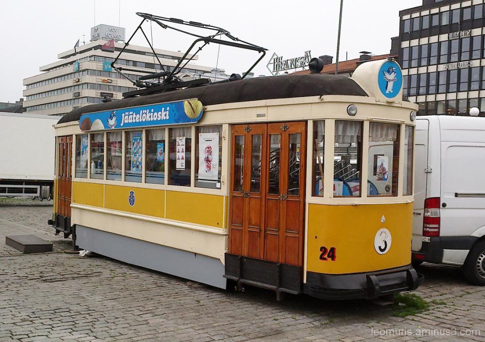 Raitiovaunu - Tram