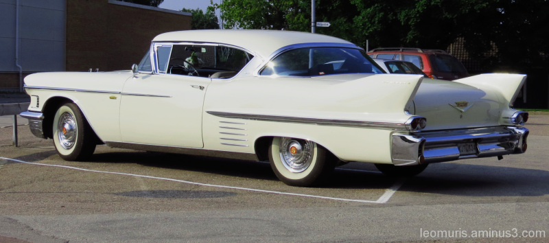 Old handsome cadillac