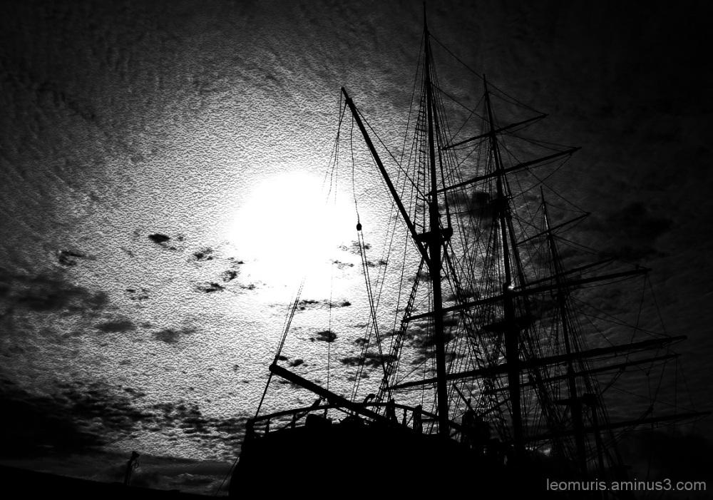 Masts.