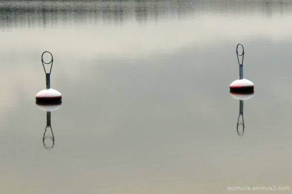 two buoys