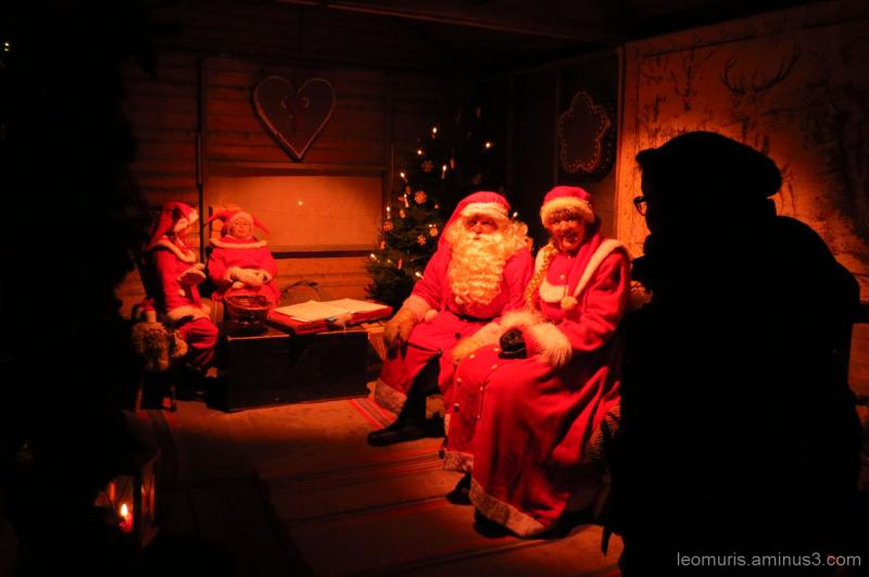 Santa and Mrs.