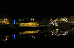 River by night