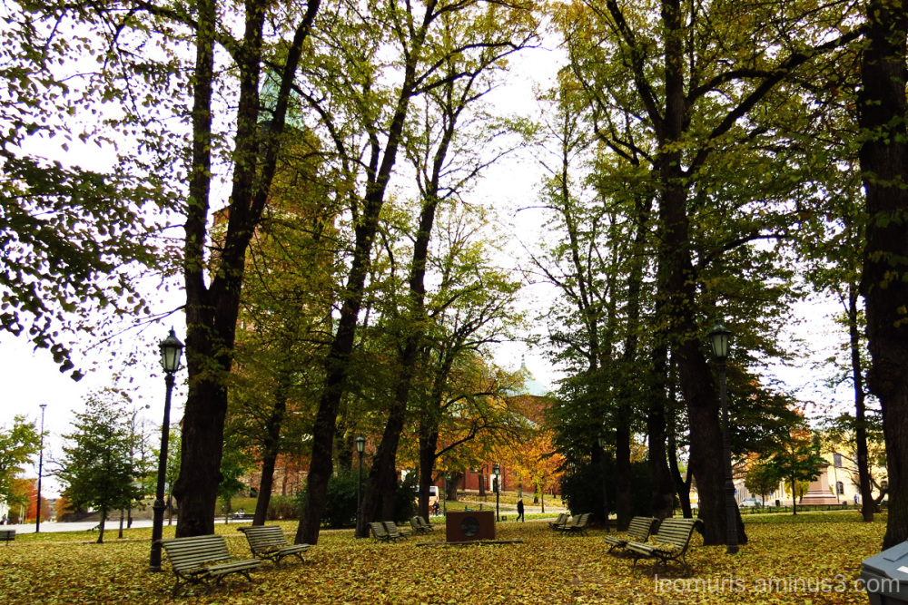 Turku Cathedral Park.