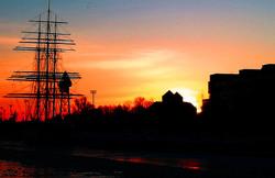 sunset and imagination