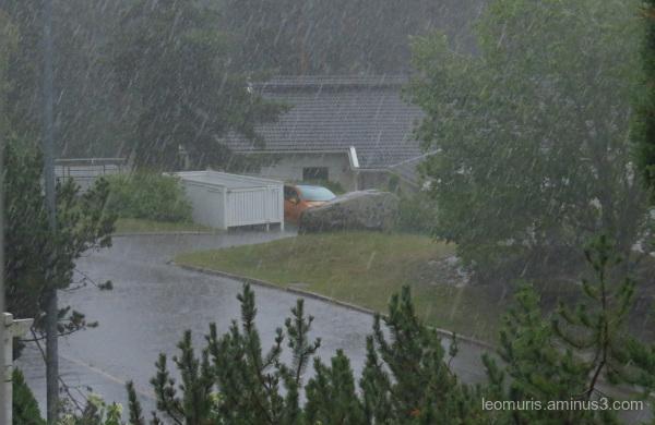 Rainy wetaher