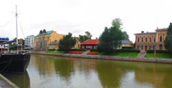 bit melqancholy river view