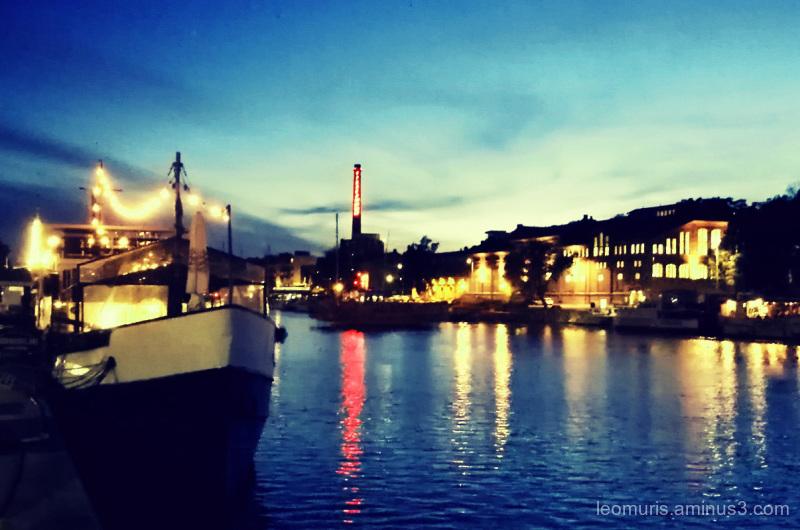 River lights and lights