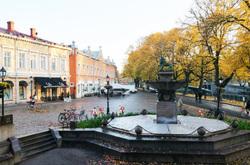 Autumnal cityscape