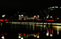 lights on thre river
