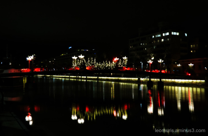 lights on thre river