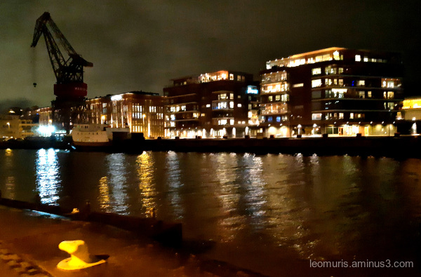 Lights on the river