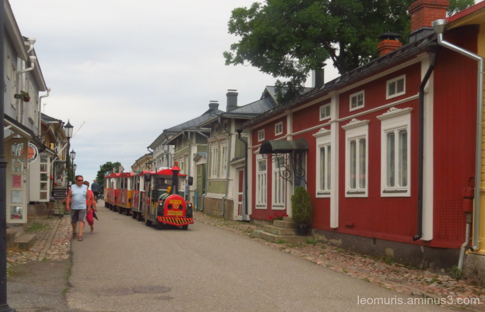 street train in Naantali