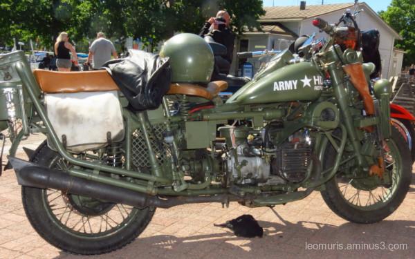Army Harley