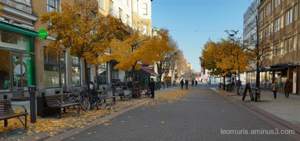 street in turku city centre