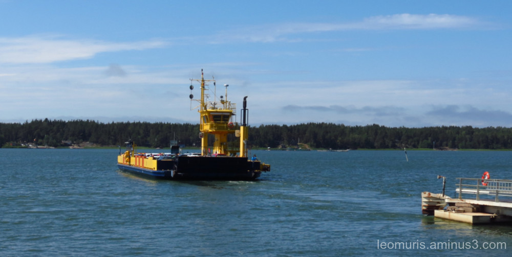 ferry is going to vartsala