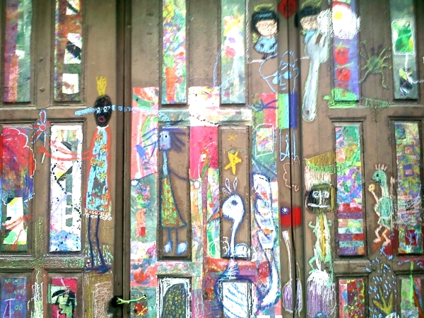 street door painting colors drawing rue dessin pe