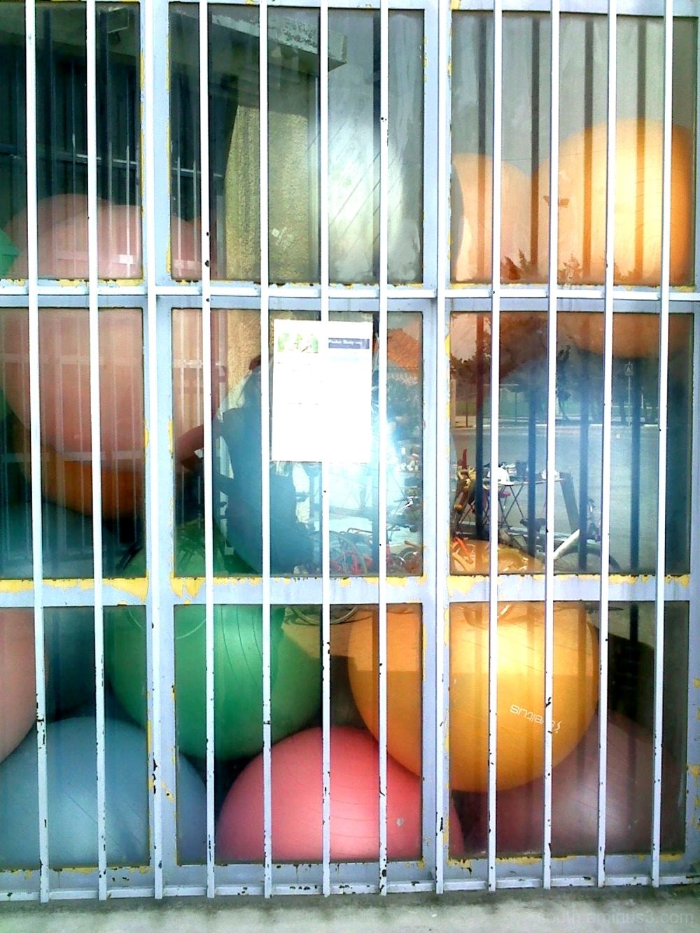 ball grille reflet reflection color