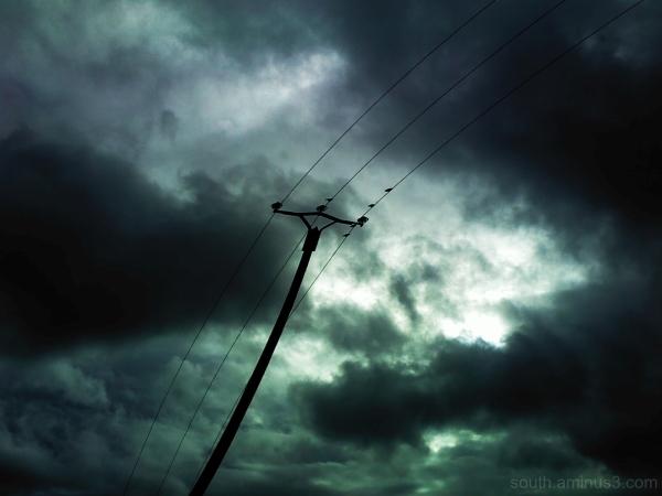 sky cloud ciel nuage bird oiseau edf elecricity