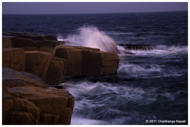 Sunset at Schoodic Point, Acadia National Park, ME